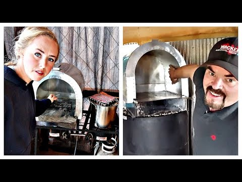 Baking Bread in the Air Crete Oven...Brilliant!