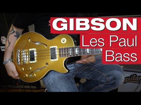 Gibson ES Les Paul Bass GT – E-Bass-Review von session
