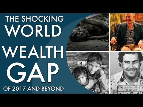 the SHOCKING world's wealth distribution 2017 - global wealth inequality|