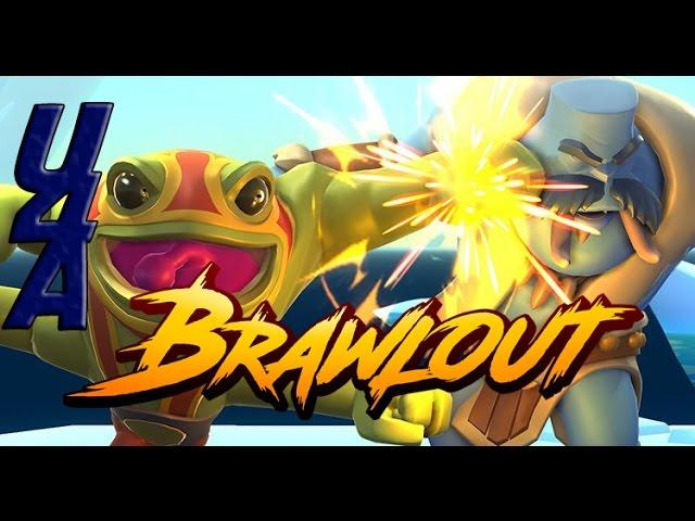 """Primeras Impresiones de """"Brawlout"""" - Dioses a mi!!! con Pachi"""