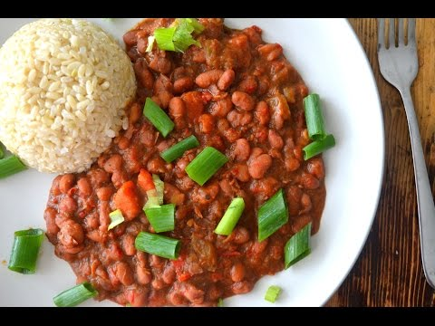 Vegan Southern Style Red Beans And Rice Recipe (gluten Free)