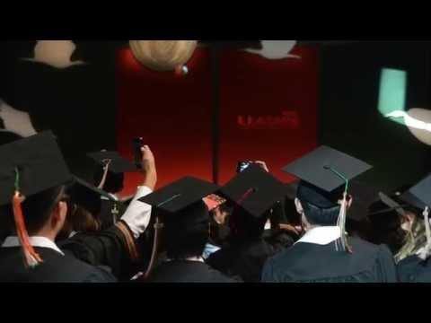 University of Miami Commencement 2014