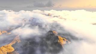 Полёт над горами! Восхитительное видео!