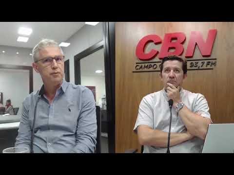 Entrevista CBN Campo Grande: Rogério Augusto Marques - Médico responsável pelo Personal Unimed CG
