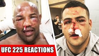 UFC 225 fighters hospitalized; Dana sending Covington to White House; CM Punk won't get another shot