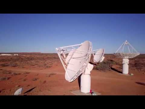 World leading radio astronomy in the Aussie Outback