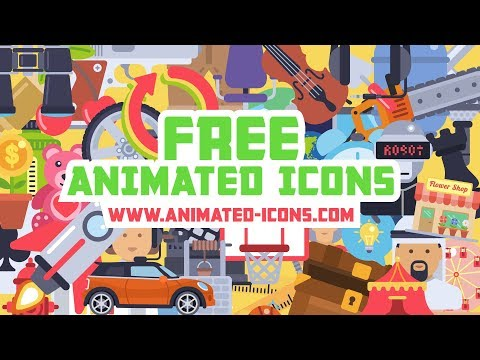 Free Animated Icons Pack (One click Download)