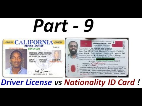 Driver License Fraud: Indigenous Americans 'Not' required to have Colonial Driver Licenses (Pt. 9) !
