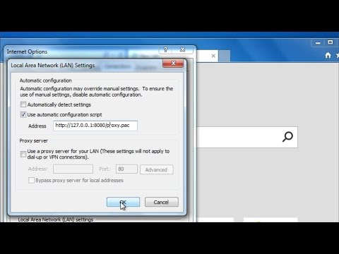 How to remove http://127 0 0 1:8080/proxy pac virus - YouTube