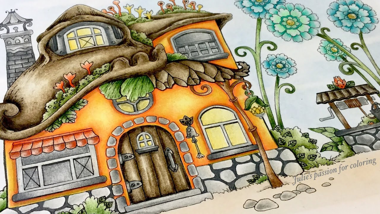 Nice Little Town 4 By Tanya Bogema Prismacolor Pencils
