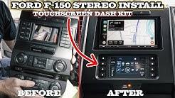 Ford F-150 Car Stereo Installation - Metra 99-5834CH and Sony XAV-AX5000