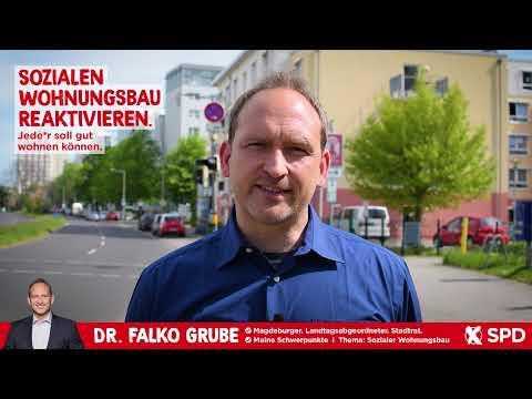 Jede*r soll gut wohnen können. Sozialen Wohnungsbau reaktivieren. - Dr. Falko Grube, SPD