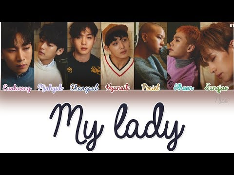 BTOB (비투비) - MY LADY Lyrics (Color Coded/ENG/ROM/HAN)