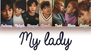 BTOB (???) - MY LADY Lyrics (Color Coded/ENG/ROM/HAN) MP3