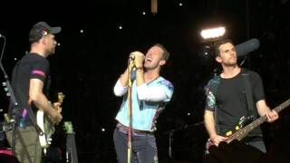 Coldplay - In My Place/Don't Look Back In Anger live@Milano Stadio San Siro, 3 Luglio 2017