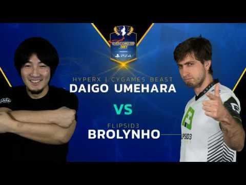 SFV: HX   CYG BST   Daigo vs. F3   Brolynho - Capcom Cup 2017 - CPT 2017