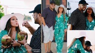 Africa Love: Adrienne Bailon Celebrates Husband Israel Houghton Birthday In Ghana