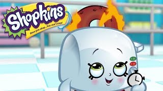 SHOPKINS Cartoon - Burning Bagels | Cartoons For Children
