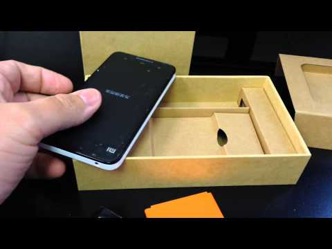 XIAOMI MI-2A Unboxing Video - CELL PHONE in Stock at www.welectronics.com