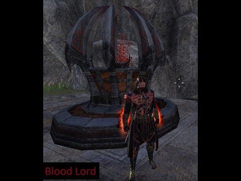 Battle Grounds Magic Templar Vampire Build (Blood Lord) Update 14 Morrowind!