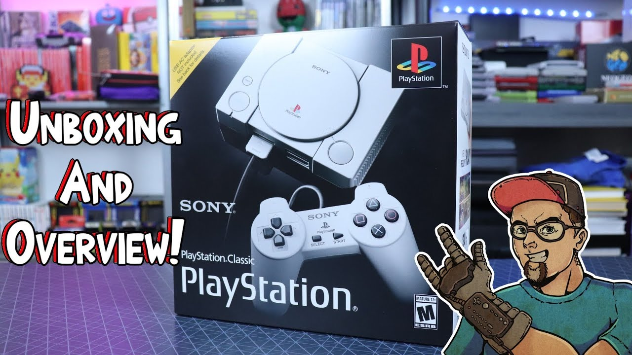 PlayStation Classic Unboxing & Overview! Is It Really Bad? - YouTube
