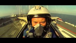 Chinese Aircraft Carrier and J-15 Fighter jet MV 中国航母大片