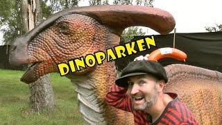 TRUMPETOSAURUS varnar för T-rex! | DINOPARKEN med Pappa Kapsyl -  kul fakta om dinosaurier för barn