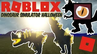 Roblox Dinosaur Simulator Halloween - KAIJU TITAN REMAKE!? + Phantom Bringer Gameplay!
