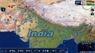 Geopolitical Simulator 4:  2018 - All Roads Lead to Delhi Ep. 76 - Building More Roads