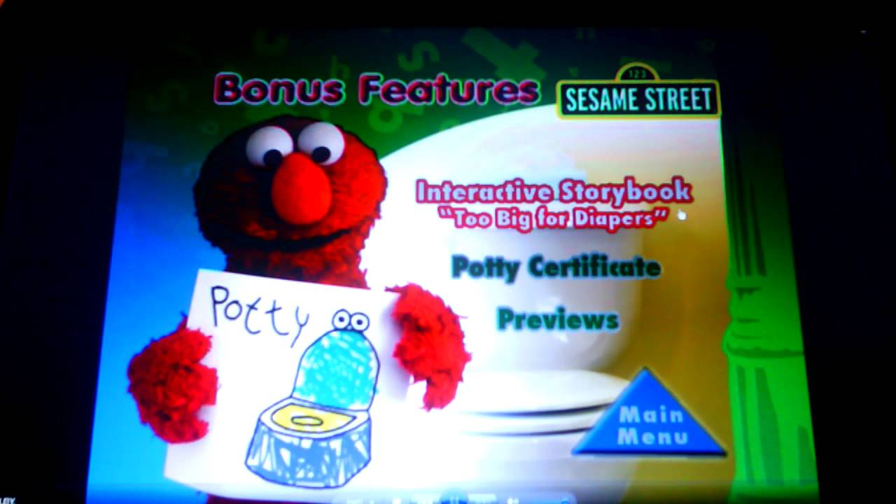 sesame street- elmo u0026 39 s potty time