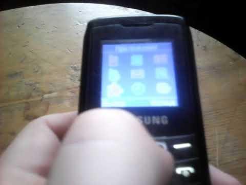 Samsung E1100T 2005 года обзор