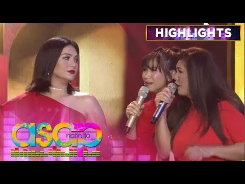 Daniela heats up on stage and smacks Regine's face   ASAP Natin 'To