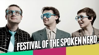 Festival of The Spoken Nerd - comedy for the insatiably sci-curious