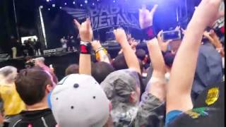 BABYMETAL Rock on the Range 2015 FULL CONCERT (w/ mosh pit, circle pit, and wal