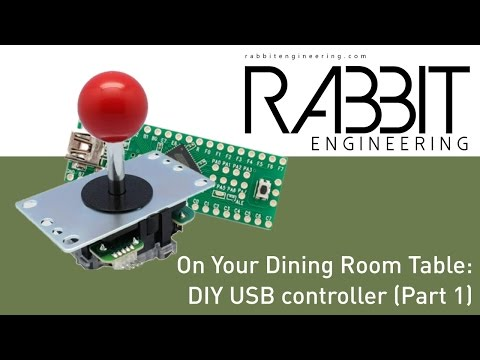 Building a DIY USB Controller - Part 1 (On Your Dining Room Table)