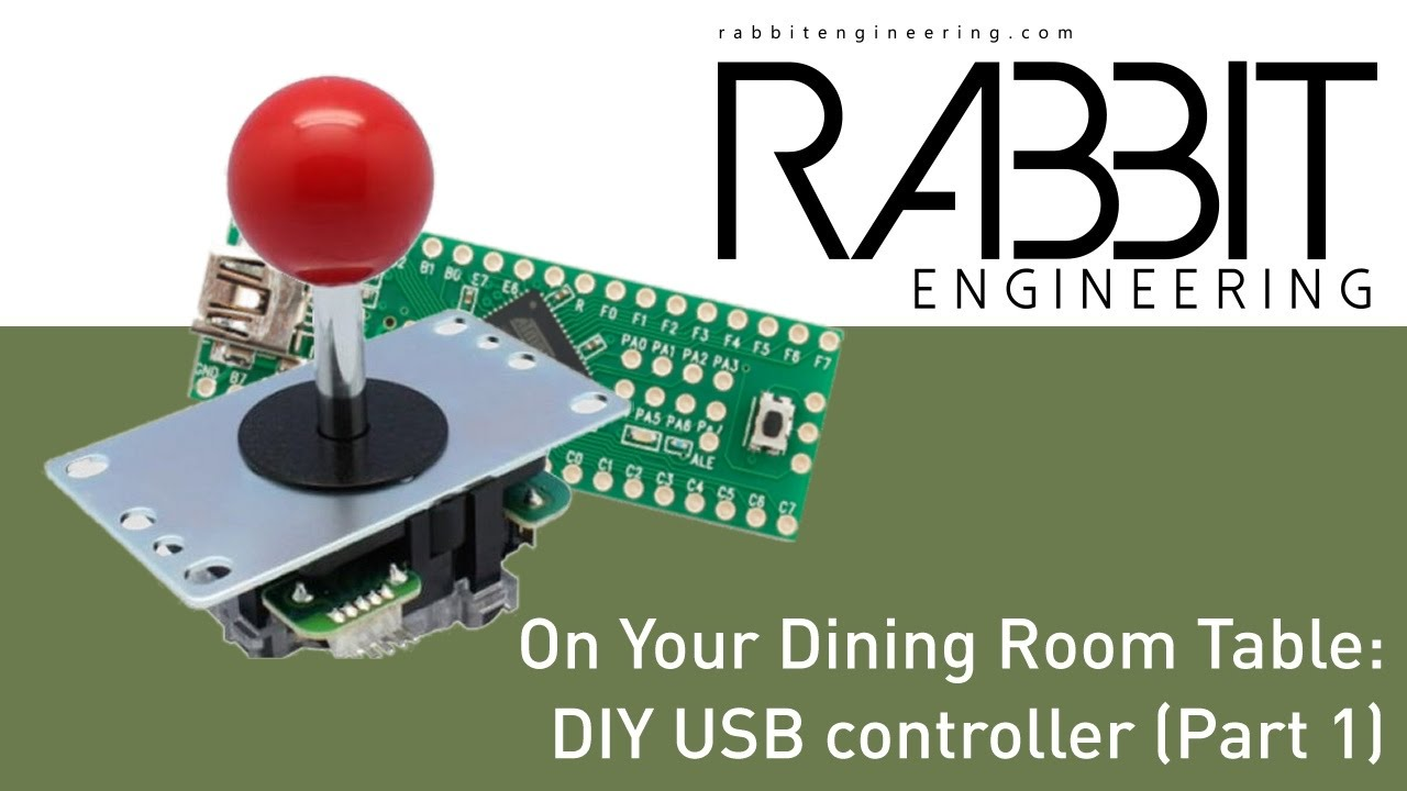 Building a diy usb controller part 1 on your dining for Dining room tables you tube
