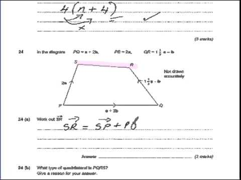 Vectors And Parallel Lines