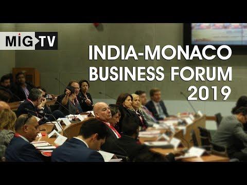 India-Monaco Business Forum 2019