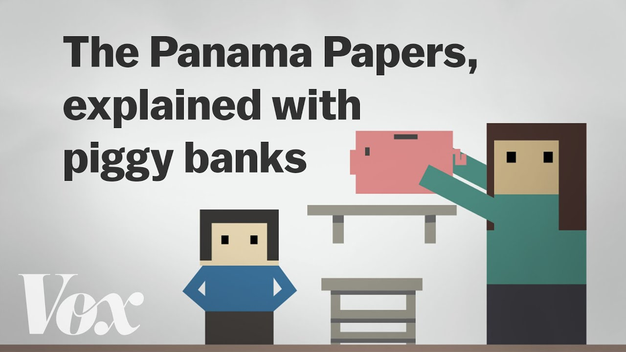 the panama papers explained with piggy banks youtube