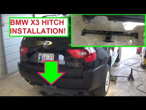hqdefault bmw x3 e83 trailer hitch installation how to install trailer BMW Wiring Harness Chewed Up at nearapp.co