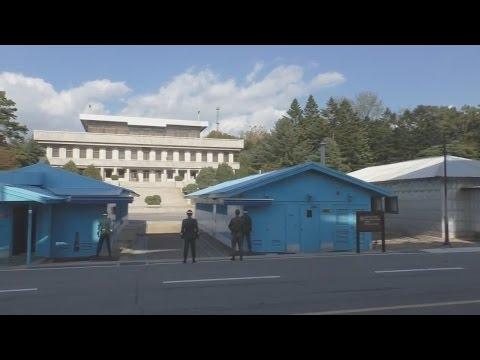 North Korea and South korea DMZ JSA Border tour