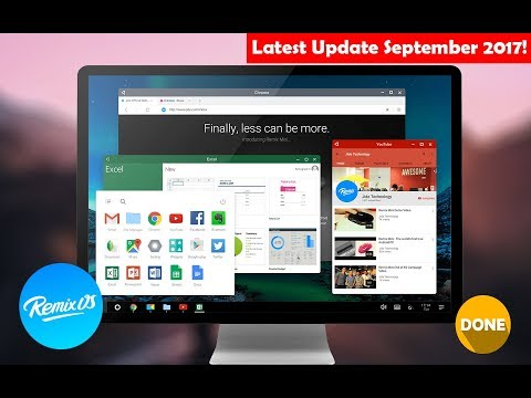 How to Install Remix OS on Hard drive Dual-Boot [September 2017]