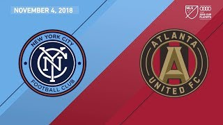 HIGHLIGHTS: New York City FC vs. Atlanta United FC | November 4, 2018