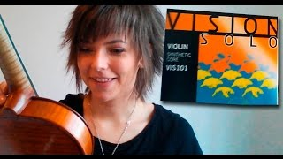 Changing strings on my violin - Comparing old/used strings to New strings