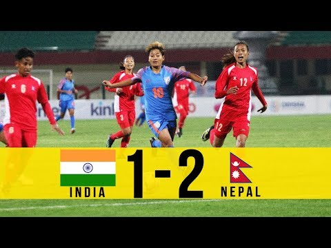 HIGHLIGHTS: INDIA 1-2 NEPAL - Hero Women's Gold Cup 2019