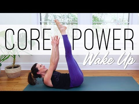 Core Power Wake Up  |  Yoga With Adriene