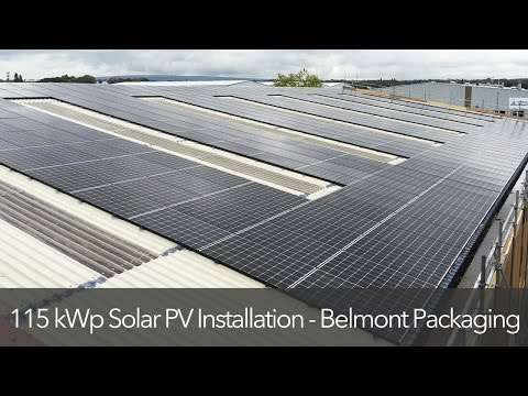 Belmont Energy - Commercial Solar Photovoltaic System Installation