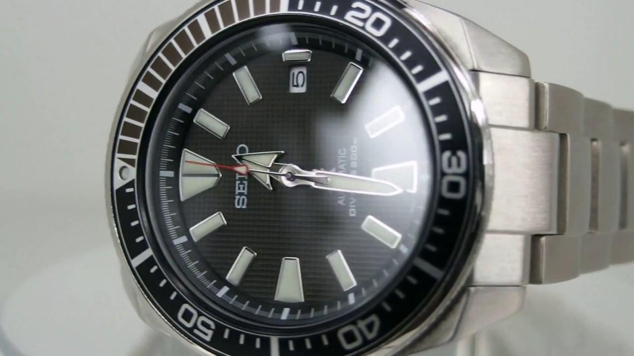 0041d9adb3c SEIKO Prospex SRPB51K1 (Samurai) - YouTube