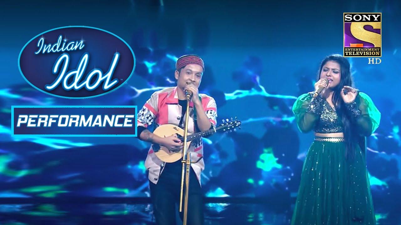 Download Pawandeep और Arunita ने 'Raah Mein Unse' पर दिया एक Romantic Performance | Indian Idol Season 12
