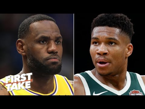 LeBron or Giannis: Who is leading the NBA MVP race?   First Take